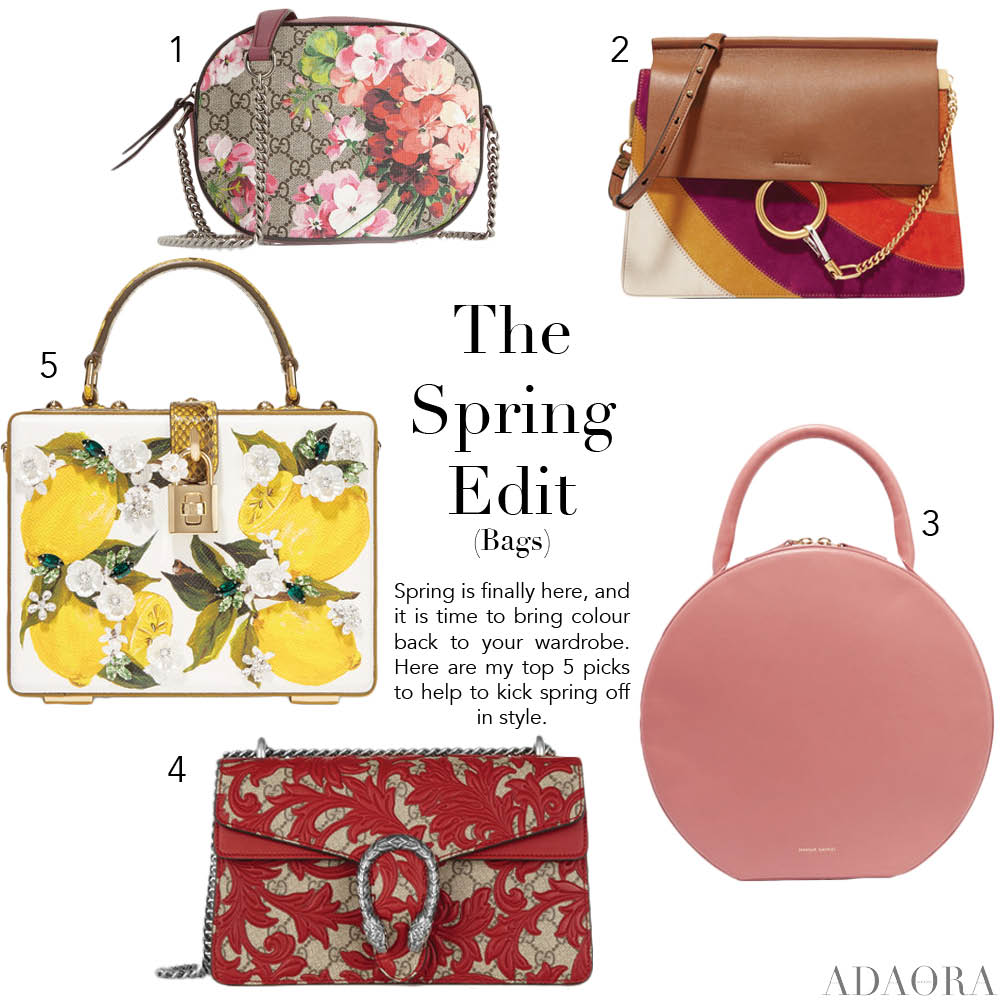 The Ultimate Bag List for Spring 2016